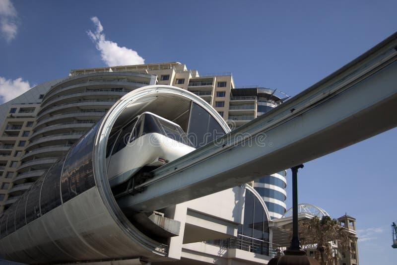 Monorail de Sydney images libres de droits