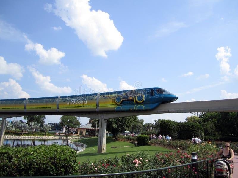 Monorail Orlando la Floride de Disney photographie stock