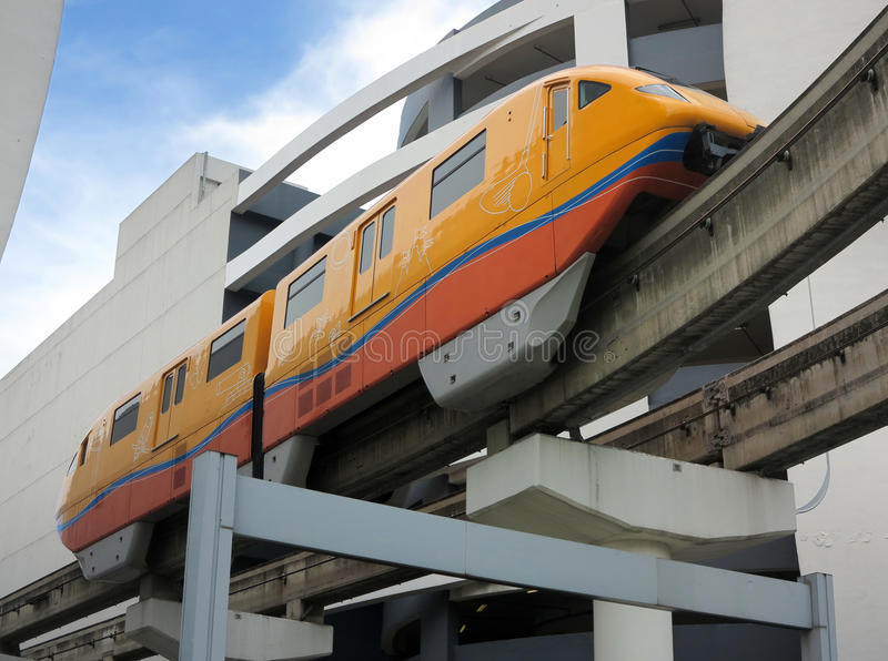 Monorail In Singapore royalty free stock images