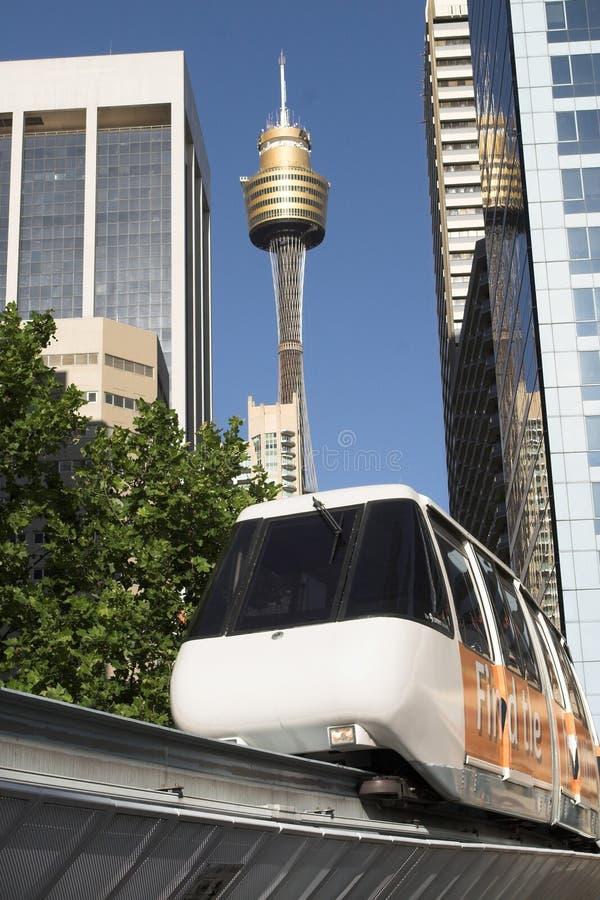 monorail Sydney image libre de droits