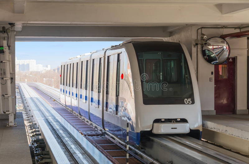Monorail. stock photo