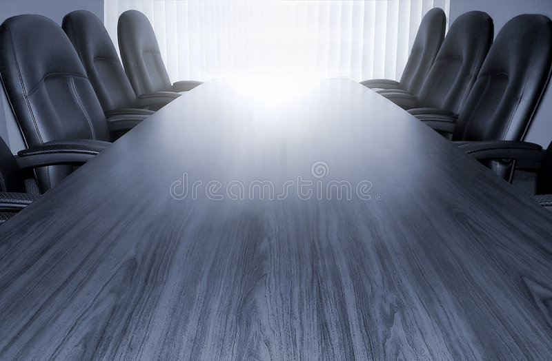 Download Monotone conference table stock image. Image of monotone - 155975