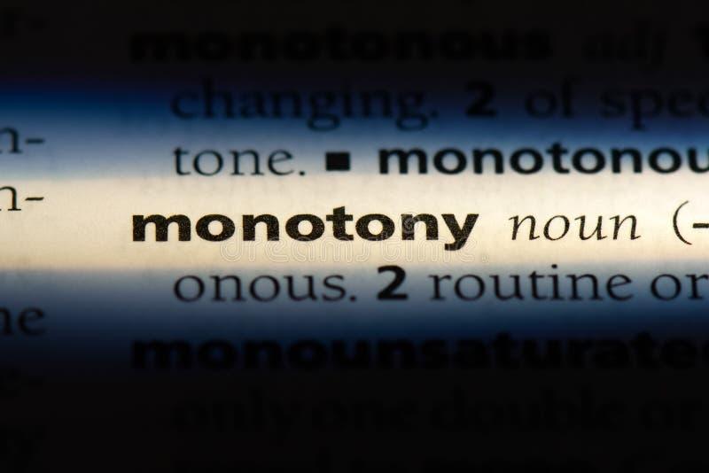 monotony royaltyfri foto