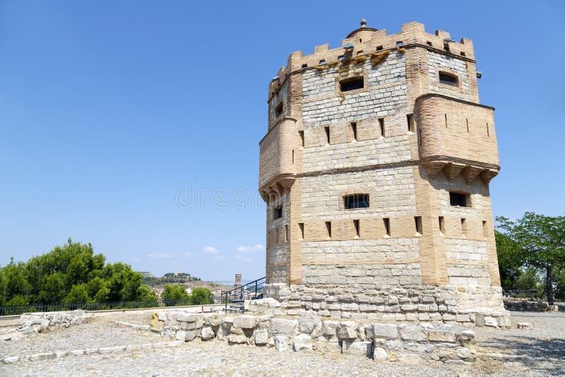 Monreal Tower In Tudela, Spain Royalty Free Stock Photo