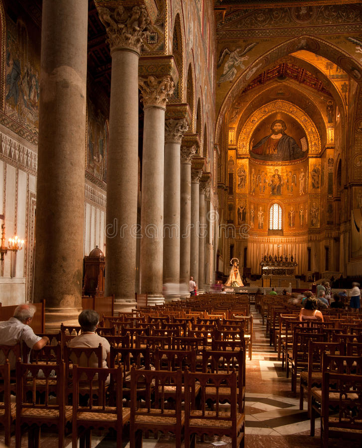 Download Monreale editorial stock image. Image of photography - 25161749
