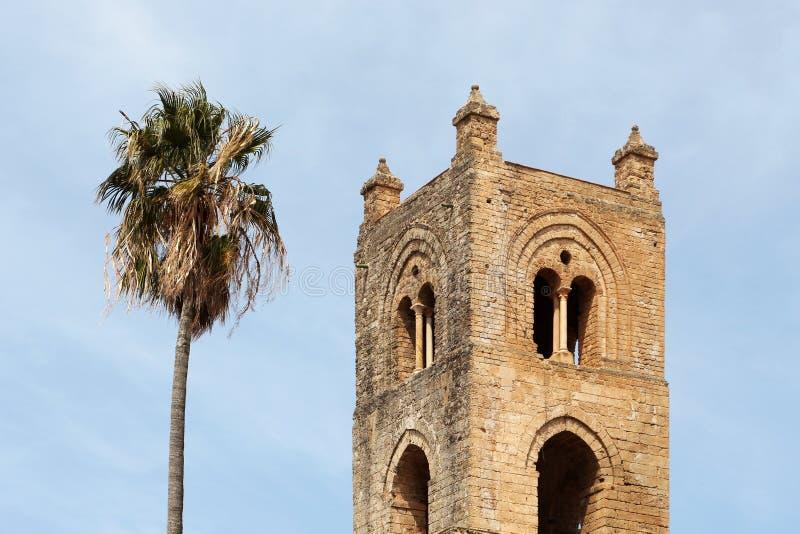 Monreale, de oude Normandische kathedraal, detail royalty-vrije stock foto