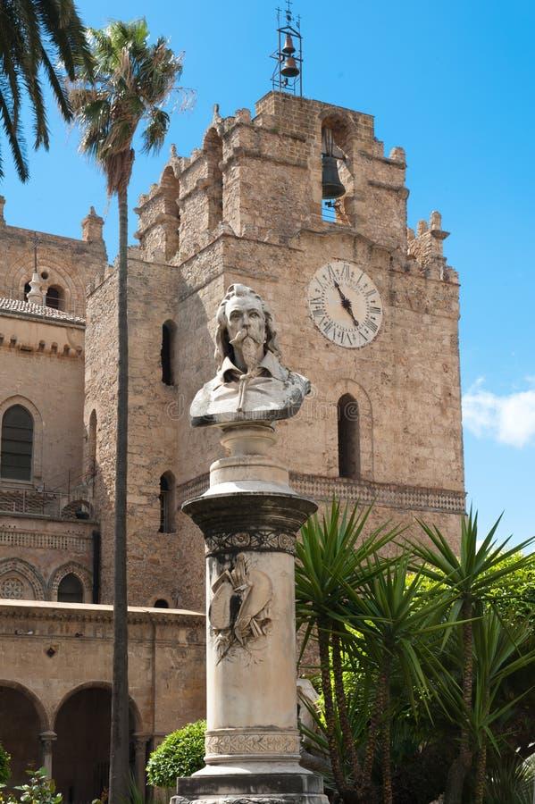 Monreale domkyrka, Sicilien royaltyfri fotografi