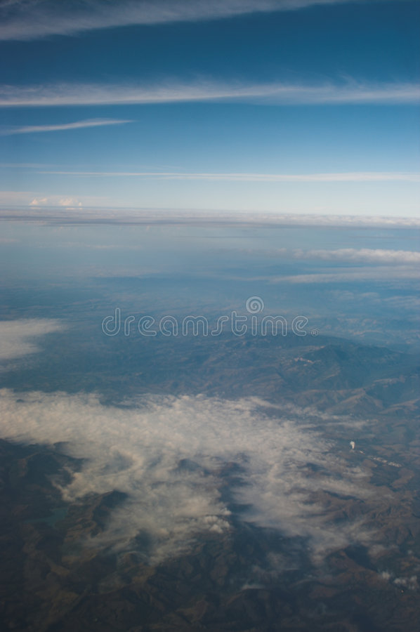 Monring vally mist. stock photos