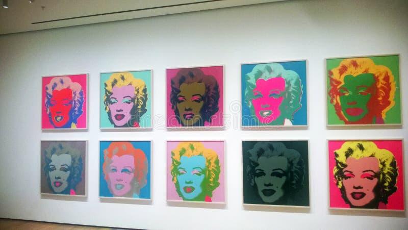 Monroe moma obrazy stock