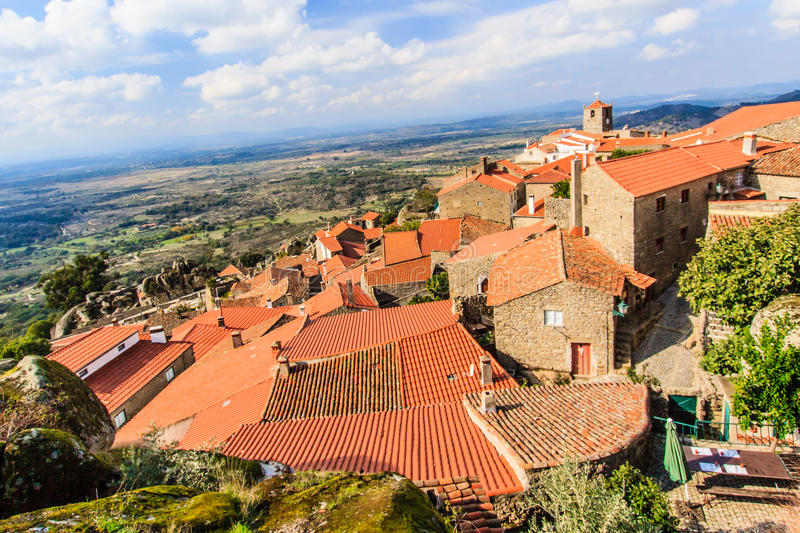 Monsanto, the most Portuguese village. Monsanto is a village in the municipality of Idanha-a-Nova. The historic village is built of granite and situated between stock image