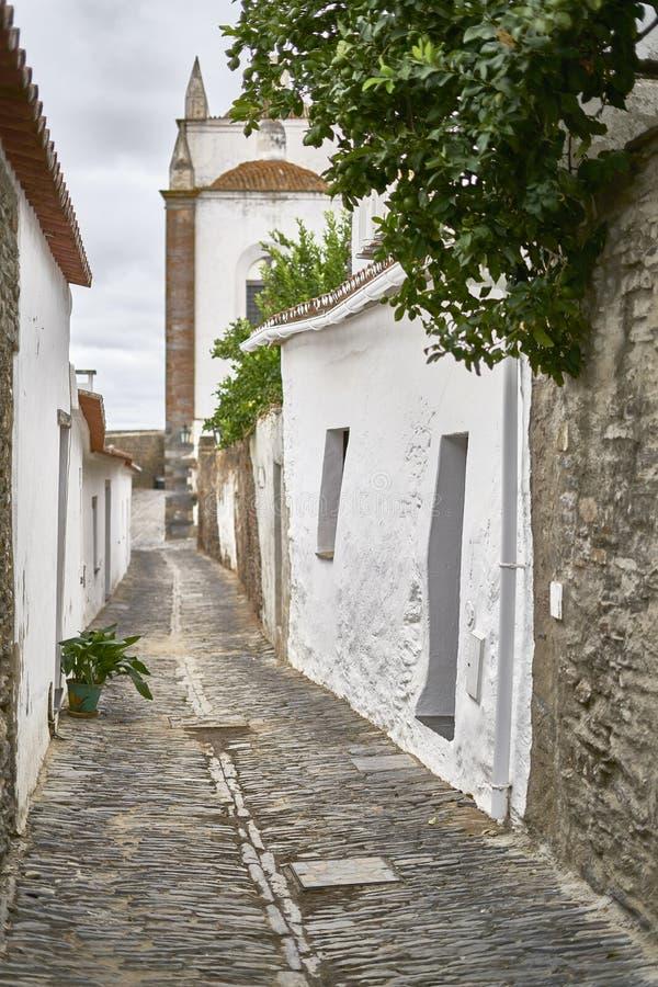 Monsaraz, Αλεντέιο, Πορτογαλία στοκ εικόνα