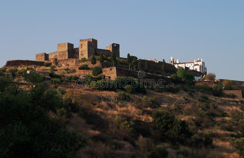 Download Monsaraz stock image. Image of castle, hilltop, wall - 20006091