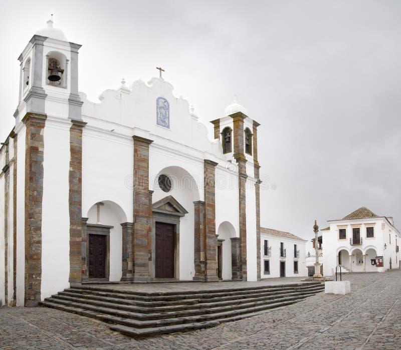 Monsaraz kościół zdjęcie stock