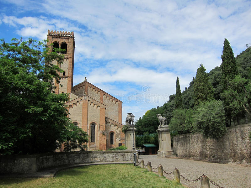 Monselice, Padua, Italia imágenes de archivo libres de regalías