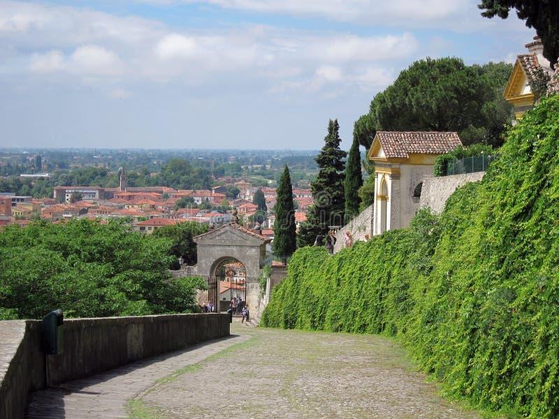 Monselice, Padua, Italia foto de archivo libre de regalías
