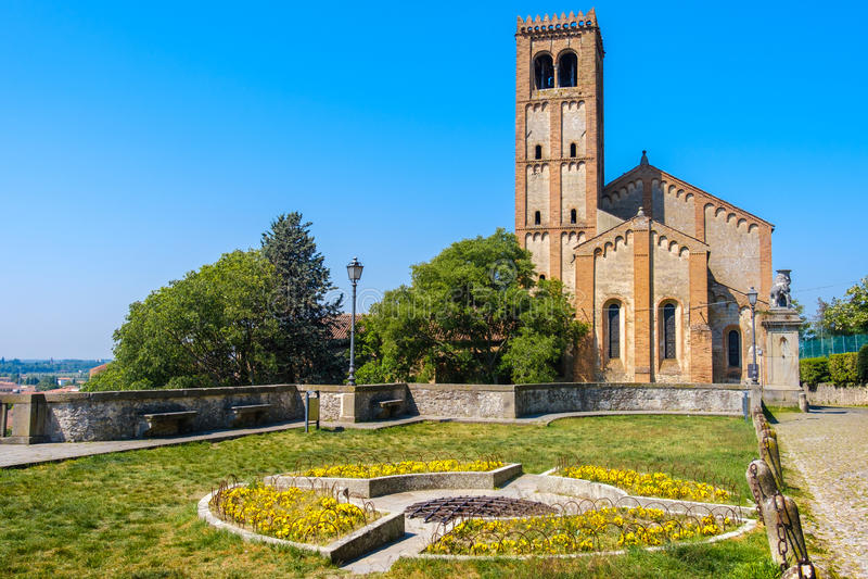 Monselice Véneto Italia Padua Pieve San Giustina de Padua fotografía de archivo libre de regalías