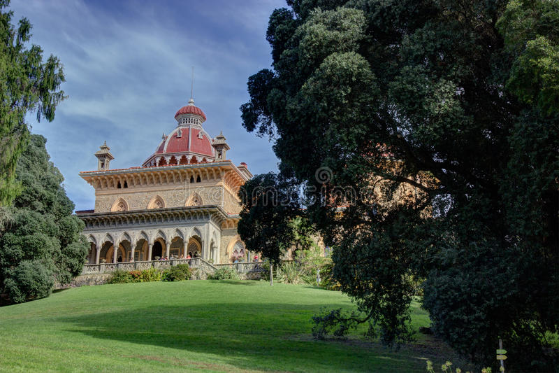 Monserrate宫殿 图库摄影