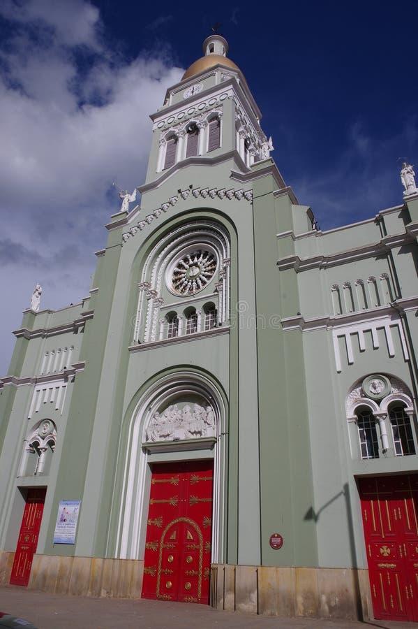 Monserrate,波哥大,哥伦比亚 免版税库存照片