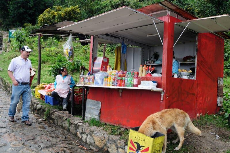 Monserrate - Bogota royalty free stock images
