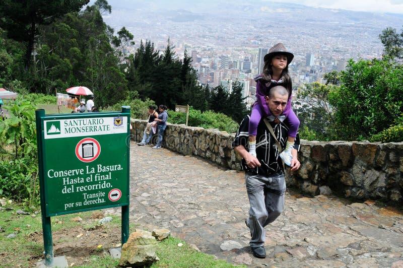 Monserrate - Bogota photos libres de droits