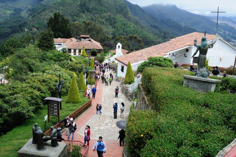 Monserrate - Bogota photo libre de droits