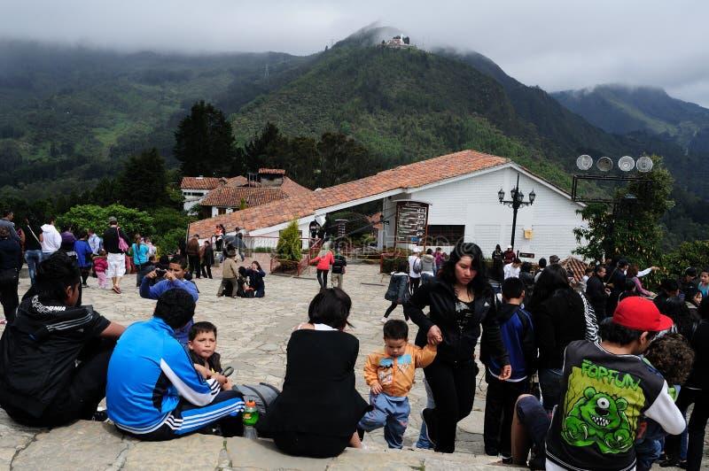Monserrate - Bogota photographie stock libre de droits