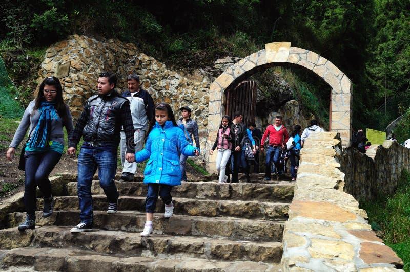Monserrate - Bogota royalty free stock photography