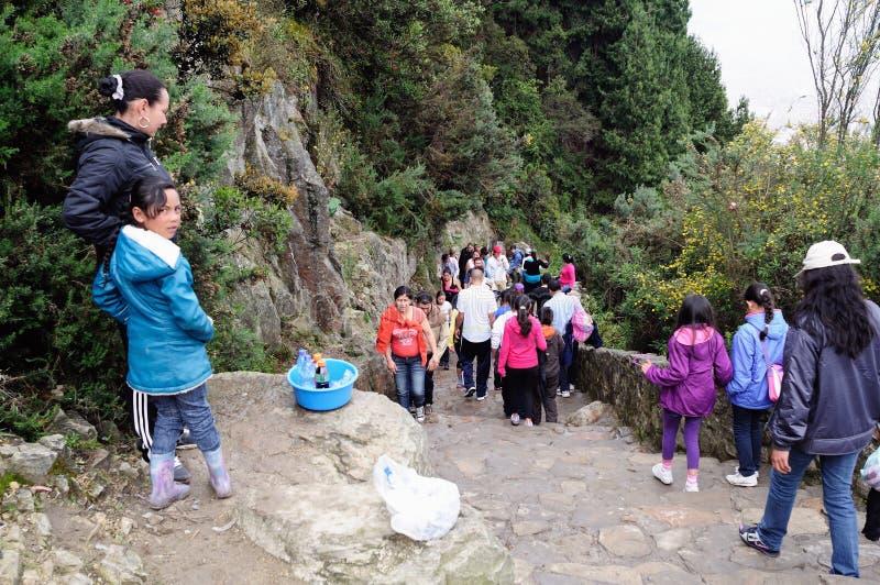 Monserrate - Bogota photos stock