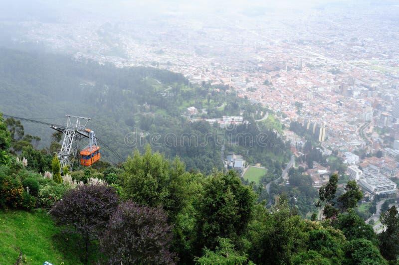 Monserrate - Bogota fotografie stock libere da diritti