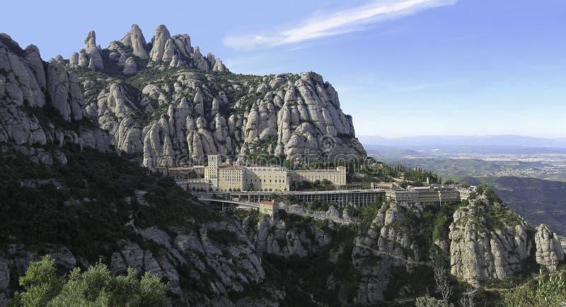 Monserrate, Catalonia, Espanha fotografia de stock