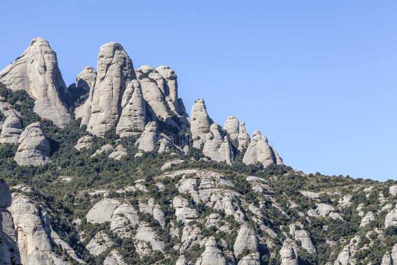 Monserrate, Catalonia, Espanha imagem de stock
