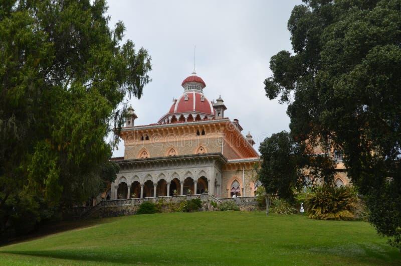 Monserrate Palace, Sintra, Portugal stock image