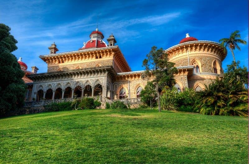 Monserrate slott arkivbilder