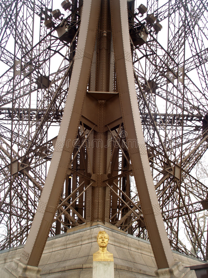 Monsieur Eiffel images stock