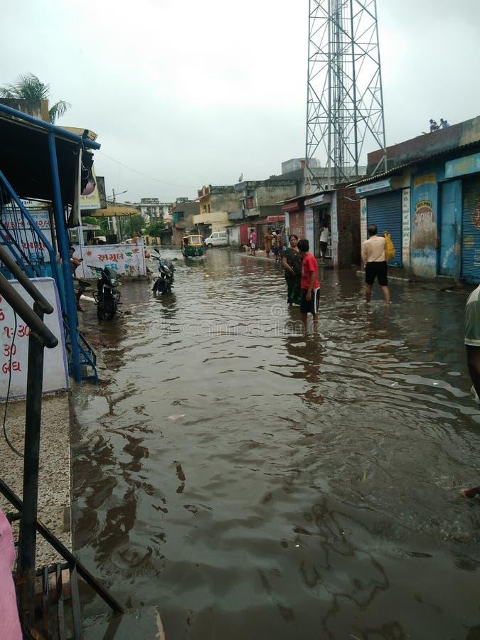 monsoon imagens de stock