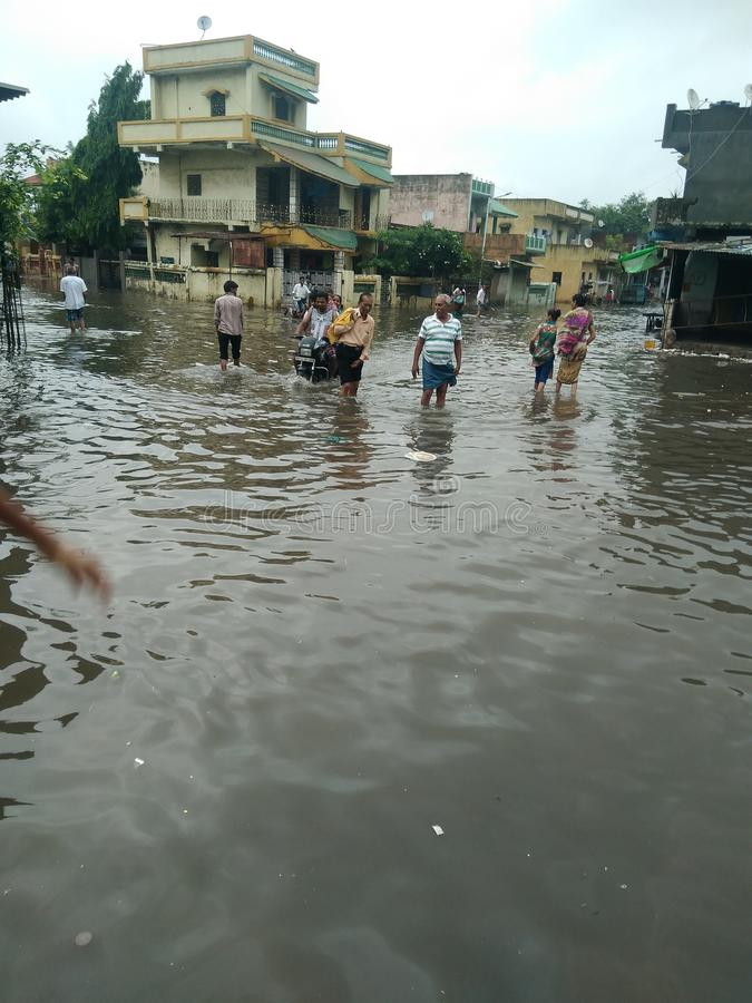 Monsoon royalty free stock photos