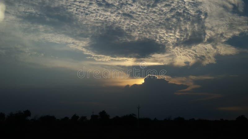 Monsoon Cloud royalty free stock photo