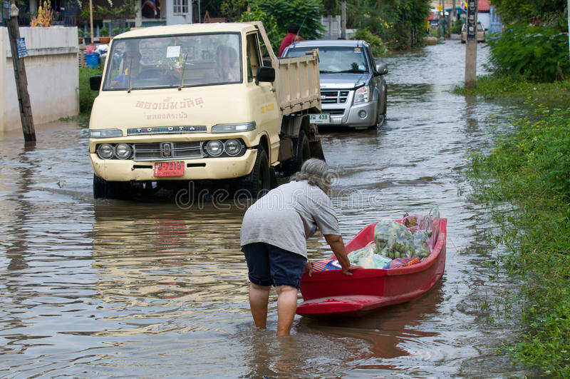 Monsoon Season In Thailand Editorial Stock Photo