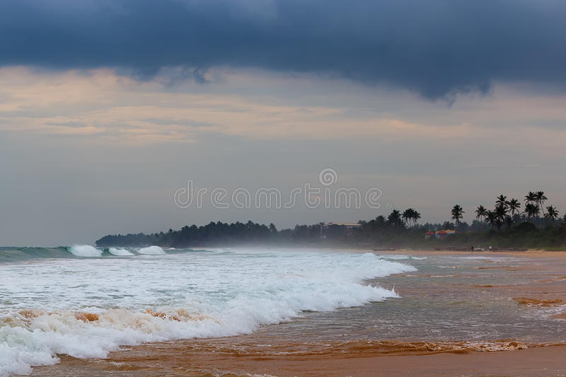 Monsoon Storm. Strom captured in Sri Lanka during monsoon royalty free stock photos