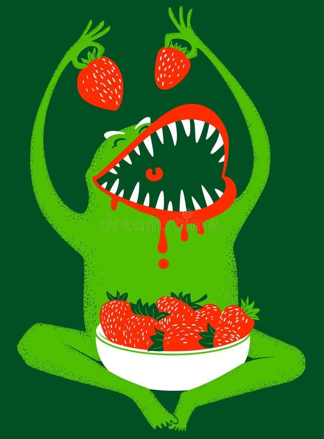 Download Monster stock vector. Illustration of cute, food, breakfast - 19348956