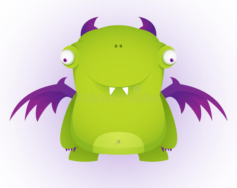 monster stock illustrationer