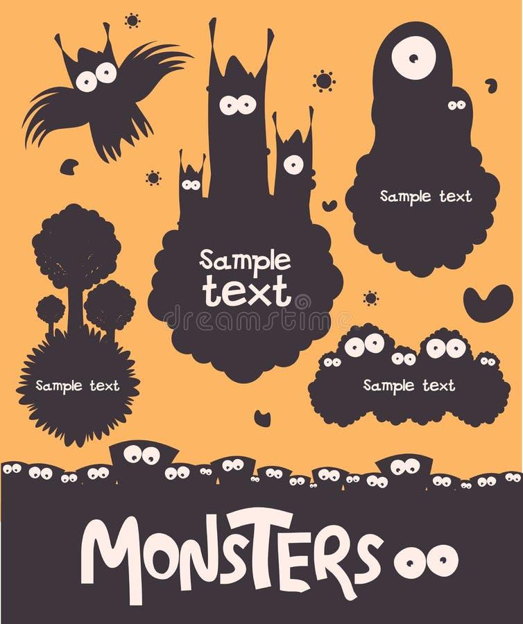 Monster lizenzfreies stockfoto