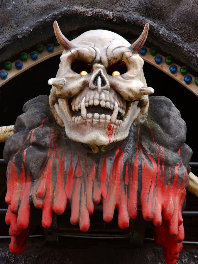 Monster. Horror monster shot taken in an amusement park in Vienna stock photos