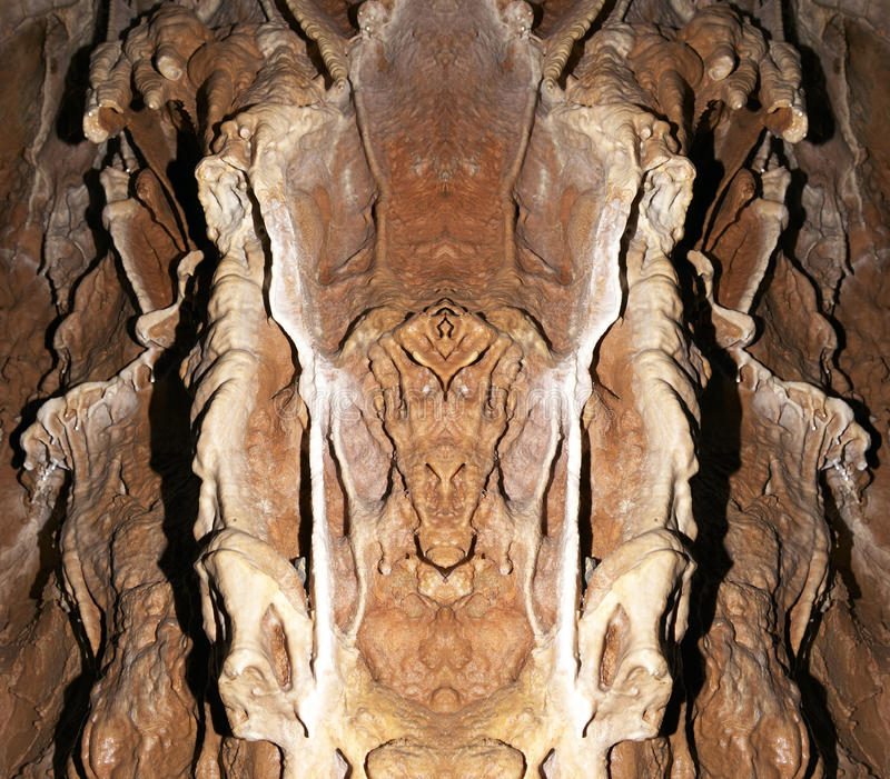 Monster. Abstract image of the monster from stone - digitally altered royalty free stock photo