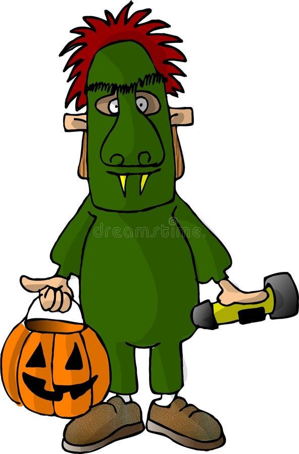 Monster Boy stock illustration