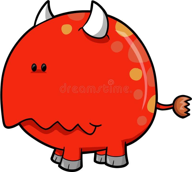 Download Monster Devil Vector stock vector. Image of hell, illustration - 6859084