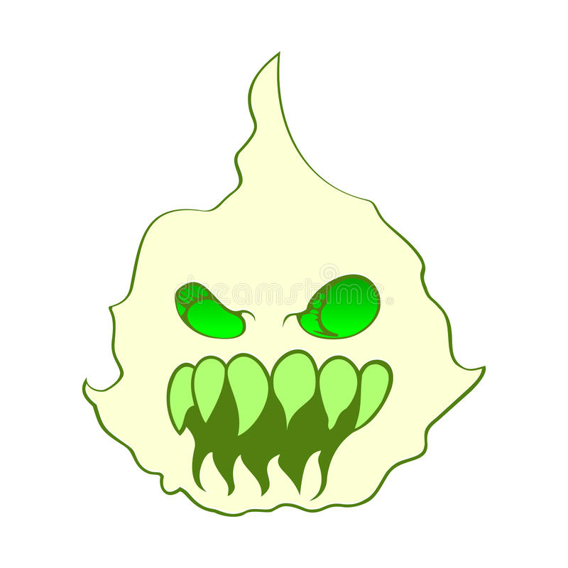 Monster-Gesicht lizenzfreie stockfotografie