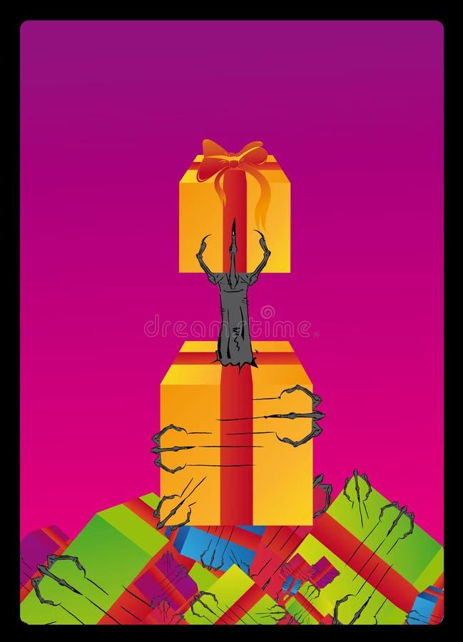 Download Monster Hand Illustration Col Royalty Free Stock Image - Image: 7533166
