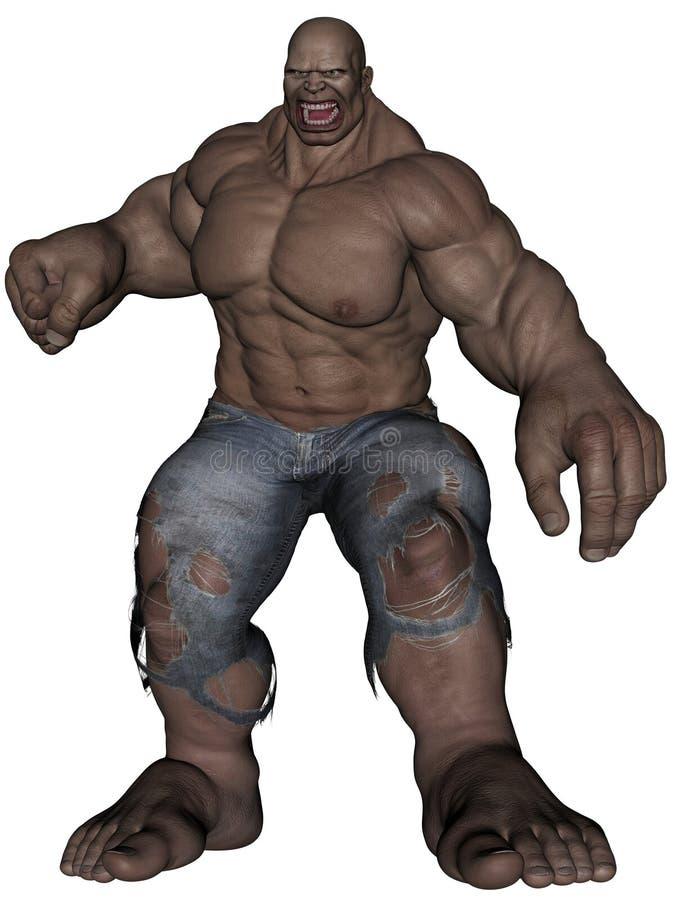 Download Monster man stock illustration. Illustration of illustration - 23342922