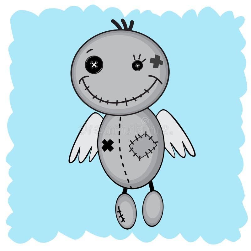 Monster met vleugels vector illustratie